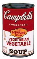 campbell's soup ii: vegetarian vegetable [ii.56] by andy warhol